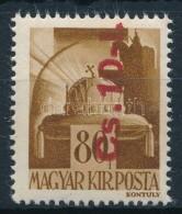 ** 1946 Betűs (Cs. 10-I) Fordított Felülnyomással (36.000) - Stamps