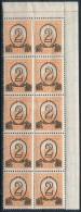** 1931 KisegítÅ' MPIK 501B ívszéli Tízestömb (30.000++) - Stamps
