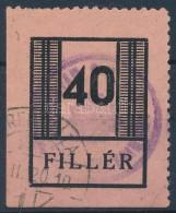 O 1944 Nyiregyháza I. 40f Széles Szám (40.000) - Stamps