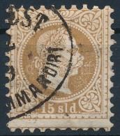 O Magyar Posta Romániában 1867 15sdl '(BUCAR)EST RECOMMANDIRT' - Stamps