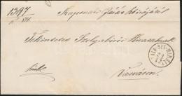 1866 Ex Offo 'ZALA-SZT-MIHÁLY' (Gudlin 800 Pont) - 'VASVÁR' - Stamps