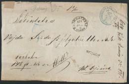 1871 Ex Offo Pénzeslevél 'SZOMBATHELY' (E 3.25, Gudlin 500 Pont) - Stamps