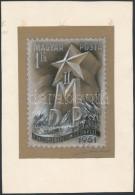 1951 Légrády Sándor MDP Kongresszus Kiadásra Készült Eredeti... - Stamps
