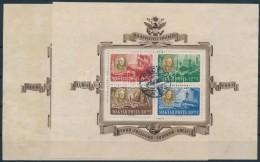 O 1947 Roosevelt Blokkpár (50.000) - Stamps