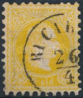O 1867 Magyar Posta Romániában 2soldi ,,BUCAR(EST)' (50.000) (elvékonyodás,... - Stamps