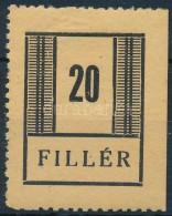 * 1944 Nyíregyháza I 20f (50.000) (vizsgálat Nélkül) - Stamps