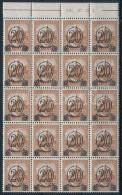 ** 1931 KisegítÅ' MPIK 504B ívszéli Húszastömb (70.000++) - Stamps