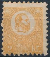 * 1871 KÅ'nyomat 2kr Eredeti Gumival, Falcos/ With Original Gum (90.000) - Stamps
