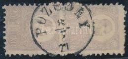 O 1871 KÅ'nyomat 25kr FüggÅ'leges Pár,,POZSONY' HelybélyegzÅ'vel.A Bélyegek... - Stamps
