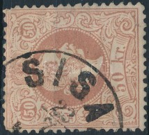 O 1867 50kr ,,SISA(K)' (150.000) (nagyon Enyhe Elvékonyodás/ Thin Paper) - Stamps
