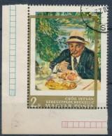 O 1967. Festmény III. 2Ft ívsarki Bélyeg Vízszintesen és FüggÅ'legesen... - Stamps