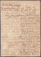 E5020 SPAIN ESPAÑA CUBA 1857. DOC SLAVE SLAVERY. SOBRE VIGILANCIA DE COSTAS ESCLAVOS ESCLAVITUD. 60 - Historical Documents