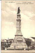 PORTUGAL LISBOA LISBONNE -  ESTATUA E PRACA D' ALFONSO ALBUQUERQUE (BELEM) Vers 1925 - Lisboa
