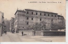 ASNIERES - 2 Cartes - Les écoles Rue De Chanzy Et Rue De Bretagne  PRIX FIXE - Asnieres Sur Seine