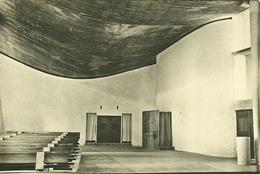 70 Haute Saone RONCHAMP Chapelle Notre Dame Du Haut Architecte LE CORBUSIER   Carte Glacée Non Voyagée - Autres Communes