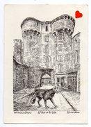 13872-LE-48-MARVEJOLS-La Porte Et La Bête------------édition : Ducourtioux - Marvejols