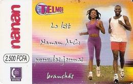 *BURKINA FASO* - Scheda Usata - Burkina Faso