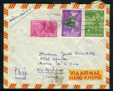 Viêt - Nam - Cover / Enveloppe De Saïgon Pour Aix Les Bains En 1960 Par Avion  Ref F182