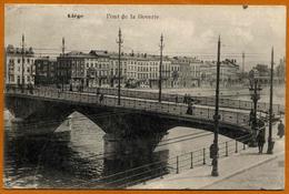 Belgique / Lot De 3 Cartes : LIEGE - Ponts (Boverie Et Fragnée) Et Passerelle Sur La Meuse - Liège