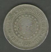 BRASILE 200 REIS 1889 - Brasile