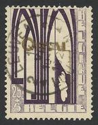 Belgium,  25 + 5 C. 1928, Sc # B70, Mi # 236, Used - Oblitérés