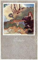 [DC9720] CPA - U. Q. VENEZIANI PANNELLI DECORATIVI - ESTATE - Non Viaggiata - Old Postcard - Cartoline