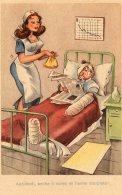 [DC9762] CPA - HUMOR - ILLUSTRATION - ACCIDENTI, ANCHE IL MIO NOME MI HANNO STORPIATO - Non Viaggiata - Old Postcard - Humor