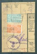 "BELGIE - TR Cachet  ""KINKEMPOIS - VOYAGEURS"" + Cachet ""RUSTUNGS=KOMMANDO LUTTICH"""" - (ref. 705) - Op Fragment - 1923-1941"