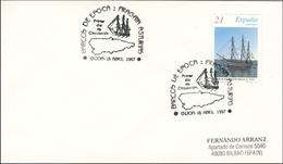 1997 Gijon. FDC. Barcos De Época. Fragata Asturias. Barcos - Ships - Frigate - Barcos