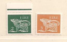 IRLANDE  ( D17 - 9587 )   1971  N° YVERT ETV TELLIER  N°  255 + 257   N** - 1949-... Republic Of Ireland