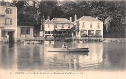 """¤¤  -   8  -  OLIVET  -  Bord Du Loiret  -  Le Restaurant """" Paul Foret """"  -  ¤¤ - Autres Communes"""