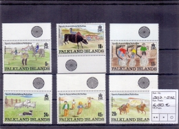 Falkland Islands - Kinderzeichnungen 1989 (**/mnh) - Falkland Islands