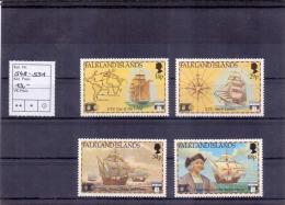 Falkland Islands -  WORLD COLUMBIAN STAMP EXPO 1991 (**/mnh) - Falkland Islands