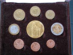 CYPRUS (GREECE) 2004 1c - 5 Euro Specimen Essai Probe UNC ON BOX & COA - Fiktive & Specimen