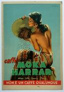 CAFFE' MOKA HARRAR - African Coffee Company Firenze - Cartolina Pubblicitaria - Advertising