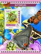 Solomoneilanden / Solomon Islands - Postfris / MNH - Sheet Vlinders 2016 - Solomoneilanden (1978-...)