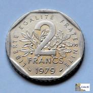 Francia - 2 Francos - 1979 - I. 2 Francos