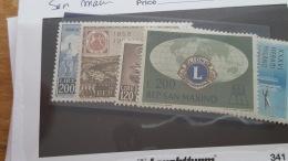 LOT 342450 TIMBRE DE ST MARIN NEUF** VALEUR 40 EUROS