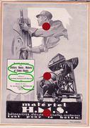 PUBLICITE H.M.S. Ateliers Heuse Malevez Simon Réunis Auvelais Andenne Saint Servais Vente à  Bruxelles Vers 1935