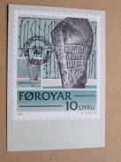 FOROYAR 10 OYRU (SC. M. MÜLLER) Stamp TORSHAVN 19-10-1981 ( Zie Foto ) ! - Cartoline Maximum