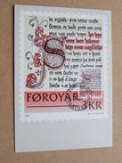 FOROYAR 3 KR (SC. M. MÜLLER) Stamp TORSHAVN 19-10-1981 ( Zie Foto ) ! - Cartoline Maximum