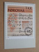 FOROYAR 1 KR (SC. M. MÜLLER) Stamp TORSHAVN 19-10-1981 ( Zie Foto ) ! - Cartoline Maximum