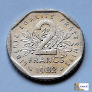 Francia - 2 Francos - 1982 - I. 2 Francos
