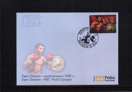 Montenegro 2016 Dejan Zlaticanin WBC Boxing World Champion  FDC