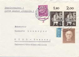 MALENTE-GREMSMÜHLEN - 1955 , Kaethe Kollwitz - Helfer Der Menschheit - BRD