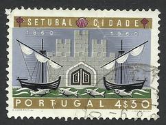 Portugal, 4.30 E. 1961, Sc # 874, Used - 1910-... Republic