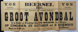 V.O.S. Beersel 1931 Groot Avondbal - Affiches