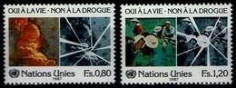 Vereinte Nationen Genf 1987 - UNO ONU - MiNr 156-157 - Ungebraucht