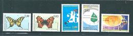 Timbre D´andorre Francais De 1994/95  N°451 A 455 Complet  Neuf ** Parfait - Andorre Français