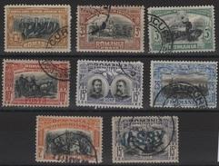 RO 141 - ROUMANIE 8 Val. Entre N° 172 Et 182 Obl. JASSY Bleu - 1881-1918: Charles I